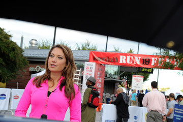 Ginger Zee Women's Health Magazine RUN10 FEED10 NYC 10K Race Event