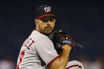 Gio Gonzalez Washington Nationals v Philadelphia Phillies
