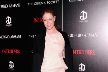 "Alise Shoemaker Giorgio Armani & The Cinema Society Host A Screening Of ""Intruders""- Arrivals"
