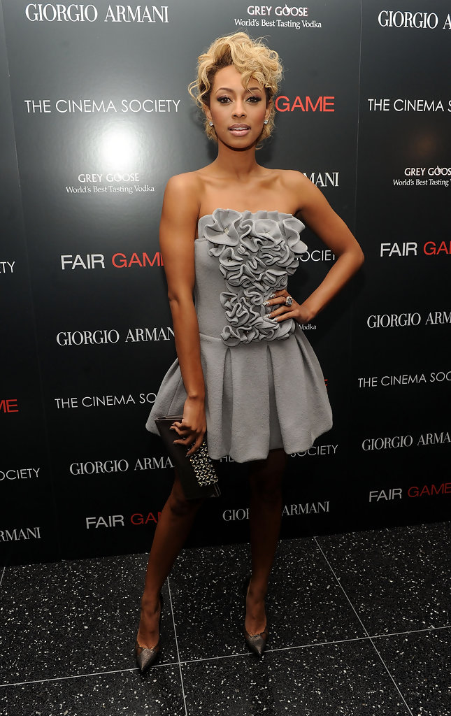 keri hilson photos photos giorgio armani amp the cinema