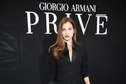 Barbara Palvin - This Is What People Wear to Sit Front Row at Paris Couture Week