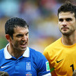 Giorgos Karagounis Costa Rica v Greece: Round of 16 - 2014 FIFA World Cup Brazil