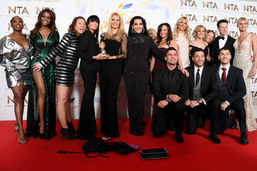 Giovanni Pernice National Television Awards 2020 - Winners Room