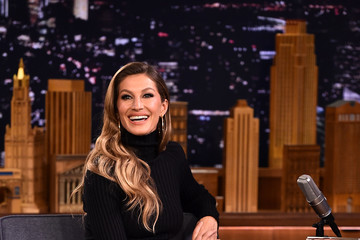Gisele Bundchen Gisele Bundchen Visits 'The Tonight Show Starring Jimmy Fallon'