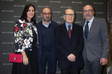 Gisella Marengo Golden Globes Ceremony Honoring Ennio Morricone Hosted by BVLGARI