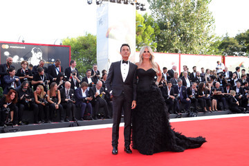 Giulio Base 'First Man' Premiere, Opening Ceremony And Lifetime Achievement Award To Vanessa Redgrave Red Carpet Arrivals - 75th Venice Film Festival