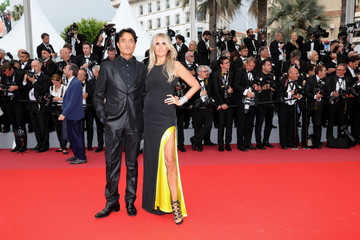 Giulio Base 'Sorry Angel (Plaire, Aimer Et Courir Vite)' Red Carpet Arrivals - The 71st Annual Cannes Film Festival
