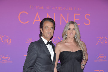 Giulio Base Opening Gala Dinner Arrivals - The 70th Annual Cannes Film Festival