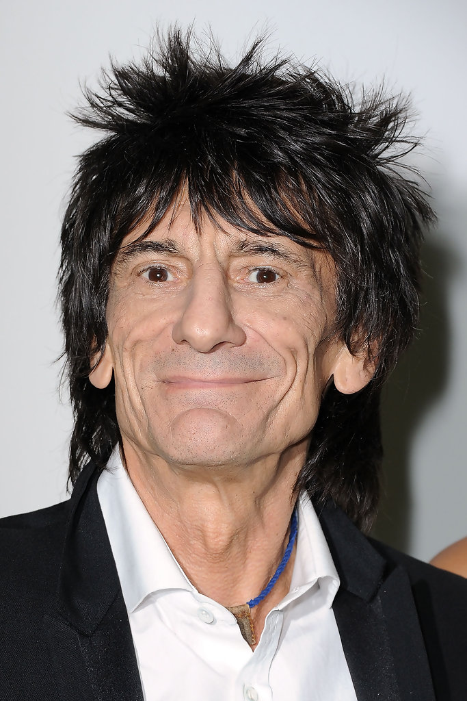 Ronnie Wood in Givenchy: Front Row