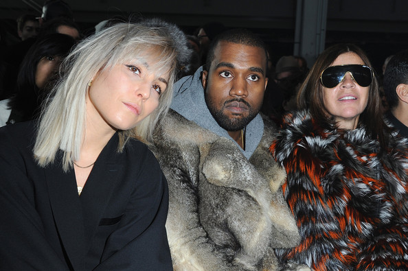 Front Row at the Givenchy Show