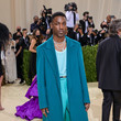 Giveon The 2021 Met Gala Celebrating In America: A Lexicon Of Fashion - Arrivals