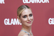 Chiara Ferragni attends 'Glamour' dinner in her honor at AC Santo Mauro Hotel on June 27, 2019 in Madrid, Spain.