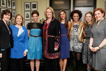 Amy Holmes Glamour Hosts Women In Politics Panel With Chelsea Clinton