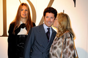 Veronica Sgaravatti, Matteo Marzotto and Marta Marzotto attend the Glamour Party in honour of Diane Von Furstenberg during Milan Fashion Week Womenswear Spring/Summer 2011 on September 26, 2010 in Milan, Italy.