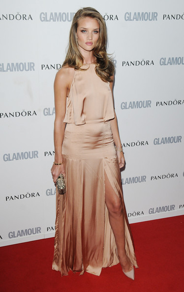 Rosie Huntington-Whiteley attends Glamour Women Of The Year Awards  at Berkeley Square Gardens on June 7, 2011 in London, England.