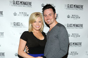 Actress Megan Hilty and boyfriend Brian Gallagher attend 'The Glass Menagerie' Broadway Opening Night at Booth Theater on September 26, 2013 in New York City.