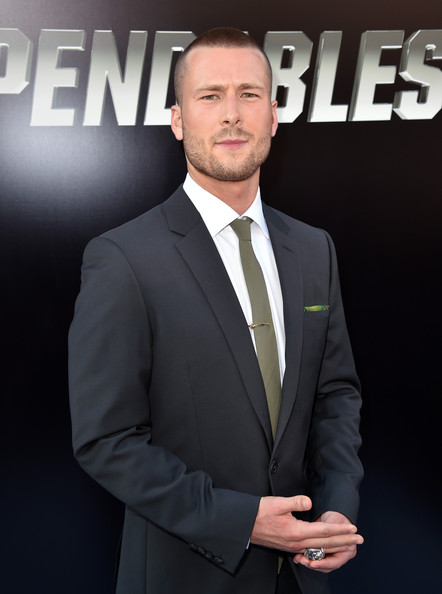 Glen Powell Pictures The Expendables 3 Premieres In Hollywood Part 2 Zimbio