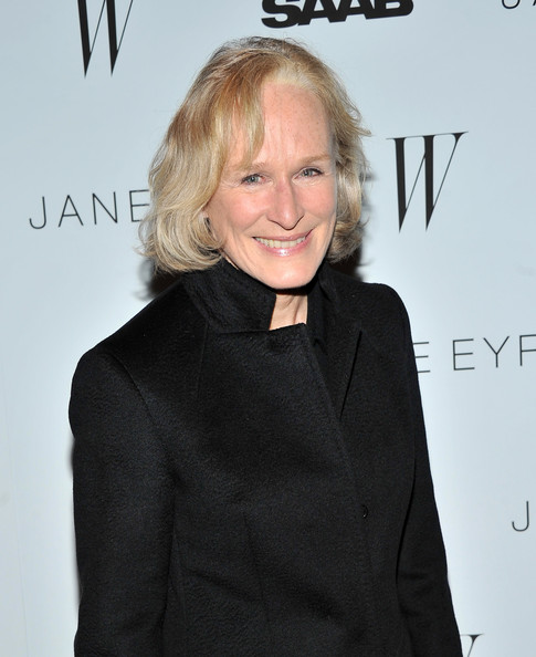 Glenn Close Actress Glenn Close attends the New York premiere of