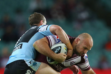 Glenn Stewart Sea Eagles v Sharks