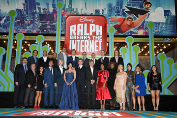 "GloZell Green Premiere Of Disney's ""Ralph Breaks The Internet"" - Red Carpet"