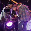 "Neil Young and Frank ""Poncho"" Sampedro Photos"