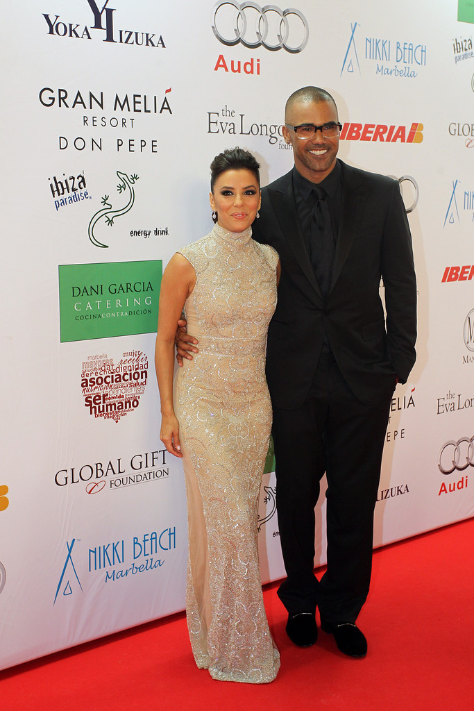 shemar moore photos photos red carpet at the global gift