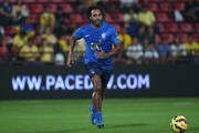 Christian Karembeu of Team Cannavaro runs with the ball during the Global Legends Series match, at the SCG Stadium on December 5, 2014 in Bangkok, Thailand.