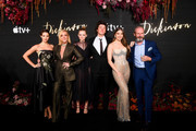 "(L-R) Ella Hunt, Jan Krakowski, Anna Baryshnikov, Adrian Blake Enscoe, Hailee Steinfeld, and Toby Huss attend Apple's Global Premiere for ""Dickinson"" on October 17, 2019 in Brooklyn, New York. ""Dickinson"" debuts on Apple TV+, the first all-original video subscription service, on November 1."