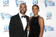 Marvin Humes and Rochelle Humes attend the Love Island final viewing party hosted by Capital for Global's Make Some Noise charity at the Ham Yard Hotel on November 20, 2018 in London, England.