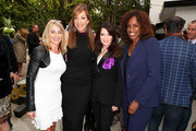 Nadia Comaneci, Allison Janney, Lisa Vanderpump and Jackie Joyner-Kersee attend GOLD MEETS GOLDEN: The 5th Anniversary Refreshed by Coca-Cola, Globes Weekend Gets Sporty with Nicole Kidman and Athletic Royalty on January 6, 2018 in Los Angeles, California.