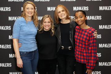 Gloria Steinem Dyllan McGee The 2019 MAKERS Conference - Day One