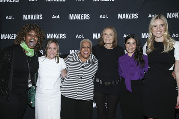 Gloria Steinem Dyllan McGee The MAKERS Conference 2016 - Day 1
