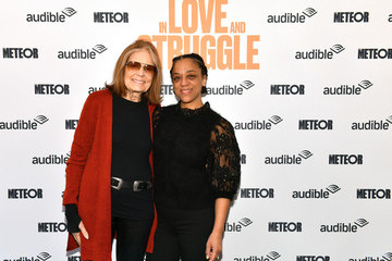 "Gloria Steinem Audible Presents: ""In Love And Struggle"" At The Minetta Lane Theatre – March 1"