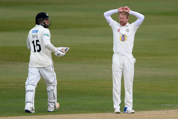 Paul Collingwood Gloucestershire v Durham - Specsavers County Championship Division Two