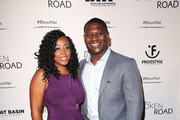 """LaTorsha Tomlinson and LaDainian Tomlinson attend the """"God Bless The Broken Road"""" Premiere at Silver Screen Theater at the Pacific Design Center on September 5, 2018 in West Hollywood, California."""