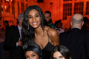 Imaan Hammam, Ugbad Abdi and Sara Sampaio attend God's Love We Deliver, Golden Heart Awards on October 21, 2019 in New York City.