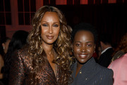 Iman and Lupita Nyong'o attend God's Love We Deliver, Golden Heart Awards on October 21, 2019 in New York City.