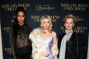 (L-R) Lais Ribeiro, Elsa Hosk, and Gretchen Mol attend the What Goes Around Comes Around Madison Avenue Flagship Opening Celebration with Pernod Ricard on February 08, 2019 in New York City.