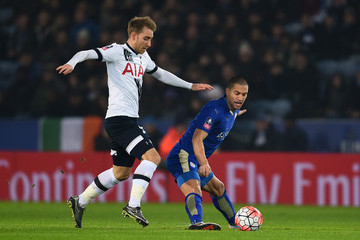 Gokhan Inler Leicester City v Tottenham Hotspur - The Emirates FA Cup Third Round Replay