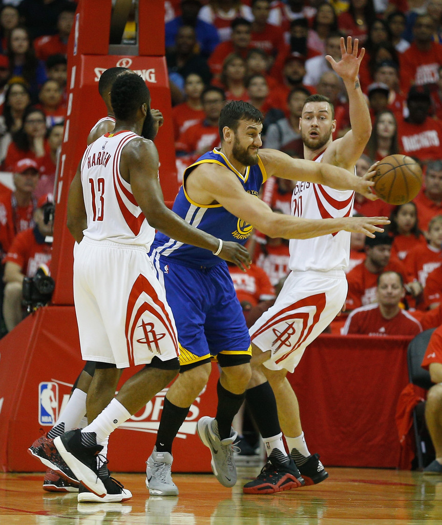 Houston Rockets X Golden State Warriors: James Harden Photos Photos