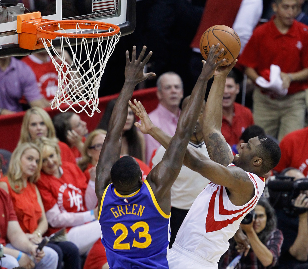 Rockets And The Warriors Game: Terrence Jones Photos Photos