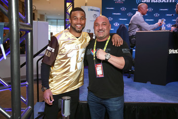Golden Tate SiriusXM at Super Bowl LII