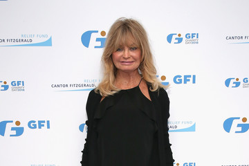 Goldie Hawn Annual Charity Day Hosted By Cantor Fitzgerald, BGC and GFI - GFI Office - Arrivals