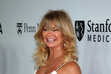 Goldie Hawn Sean Parker and The Parker Foundation Launch The Parker Institute for Cancer Immunotherapy Gala - Arrivals