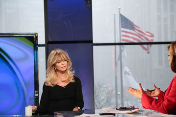 Goldie Hawn Goldie Hawn Visits 'Opening Bell with Maria Bartiromo'