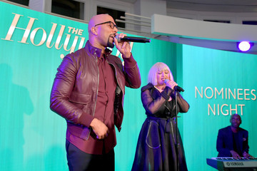 Goldie The Hollywood Reporter 6th Annual Nominees Night - Inside