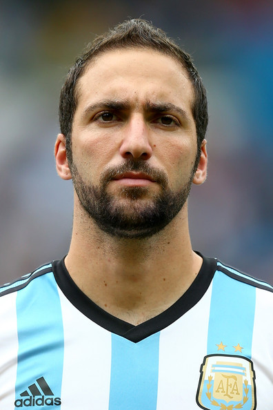 The 30-year old son of father Jorge Higuaín and mother Nancy Zacarías, 185 cm tall Gonzalo Higuaín in 2018 photo