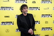 Neil Gaiman attends the Good Omens: The Nice and Accurate event during SXSW at ZACH Theatre on March 09, 2019 in Austin, Texas.