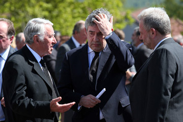 Gordon Brown Former Liberal Democrat Leader Charles Kennedy Laid to Rest