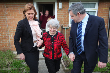 Alice Thompson Gordon Brown Makes A Home Visit In Yorkshire